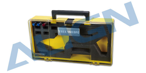 align trex 150  Carry Box-Yellow H15Z003XXW Trex 150 Spare Parts  Free Shipping with Tracking align trex 360 carbon fiber blades blue hd360b trex 450 spare parts free shipping with tracking