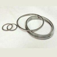 For F/ord K/uga E/scape 2013 2014 6x Car Chrome Audio Speaker Stereo Loop Sticker trim Decorative Ring Cover