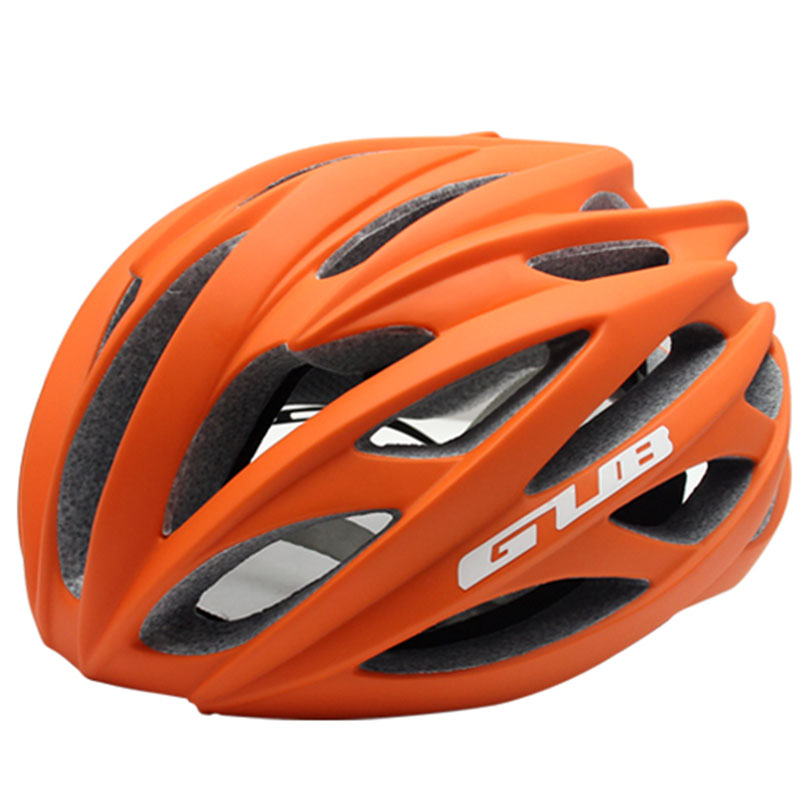 GUB New Ultra-light Road Racing Bicycle Helmet Endurance MTB Cycling Bike Safety Helmet Sports In-mold Brim 58-62cm mtb bicycle helmet safety adult mountain road bike helmets casco ciclismo man women cycling helmet 1x helmet and 1xgoggles