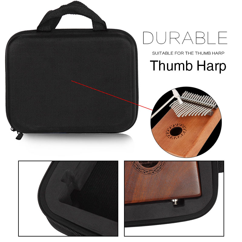 African Musical Instruments Music Accessory Fingertip Piano Love Music Handbag Plucked Stringed Instrument