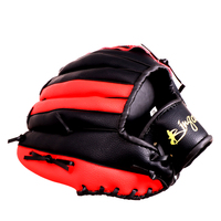 PU Leather Brown Baseball Glove Softball Outdoor Team Sports Left Hand Baseball Practice Equipment