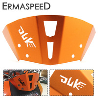 Orange Motorcycle Front Windshield Guard Windscreen CNC Aluminum Modified Accessories For KTM 125 200 All Year