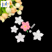 Julyarts Craft Flower Metal Cutting Dies Cut Die Decoration Scrapbooking Album Paper DIY Card Embossing Cuts