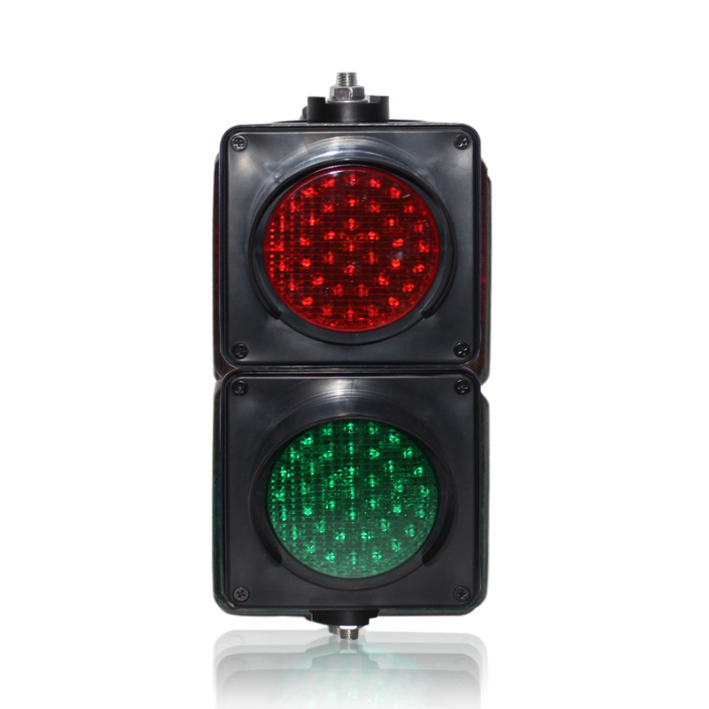 DC12V Colored Lens 100mm Red Green LED Light PC Housing Mini Traffic Signal Light On Sale