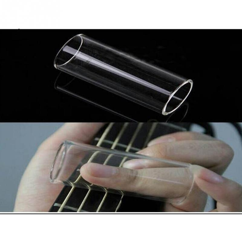 2018 ACE-202 Glass slide Guitar Accessories Guitar Finger Sliders 60mm Length 22mm Inradius(China)