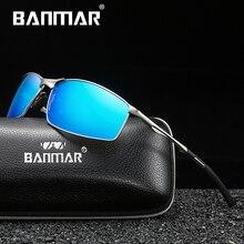 BANMAR BRAND DESIGN Classic Polarized Sunglasses Men Night Vision Driving Square Goggles UV400 Gafas Oculos De Sol