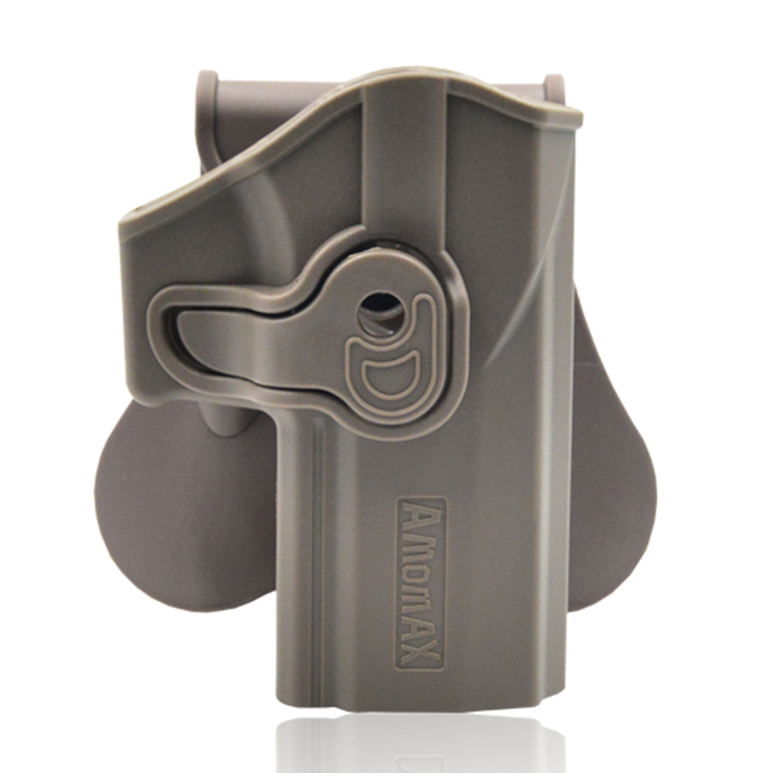 Amomax Adjustable Tactical Holster For Sig Sauer P320 - Right-handed Tan(Standard Only With Waist Plate, No Other Accessories)