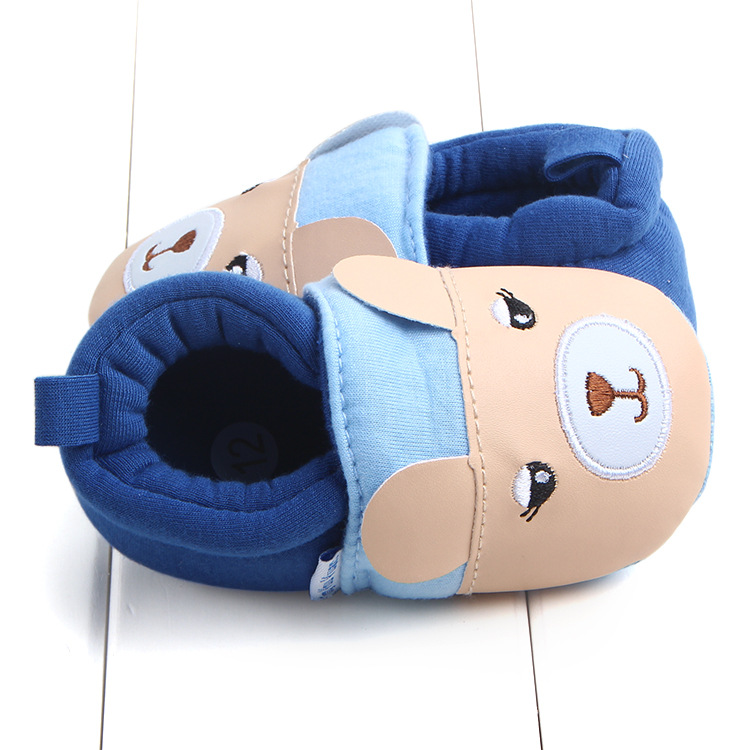 First Walkers Baby Shoes Cotton Anti-slip Booties Baby Girl Boy Shoes Animal Cartoon Newborn Slippers Footwear Booties Kids Gifts (21)