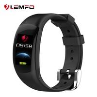LEMFO LT02 Smart Fitness Bracelet Big 3D Display Heart Rate Monitor Waterproof Pedometer Smart Band Long Time Standby