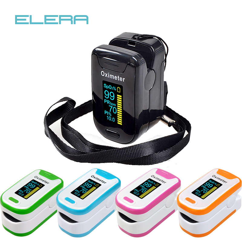 ELERA Alarm Finger Pulse Oximeter Portable Sleep Monitoring OLED Pulsioximetro SPO2 PR Oximetro De Dedo Digital Oximeter Finger