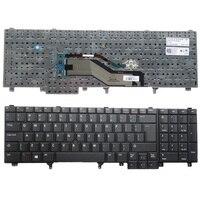 NEW For DELL E6520 E5520 M4600 M6600 E5530 E6530 M4700 M6700 UK Laptop Keyboard Black