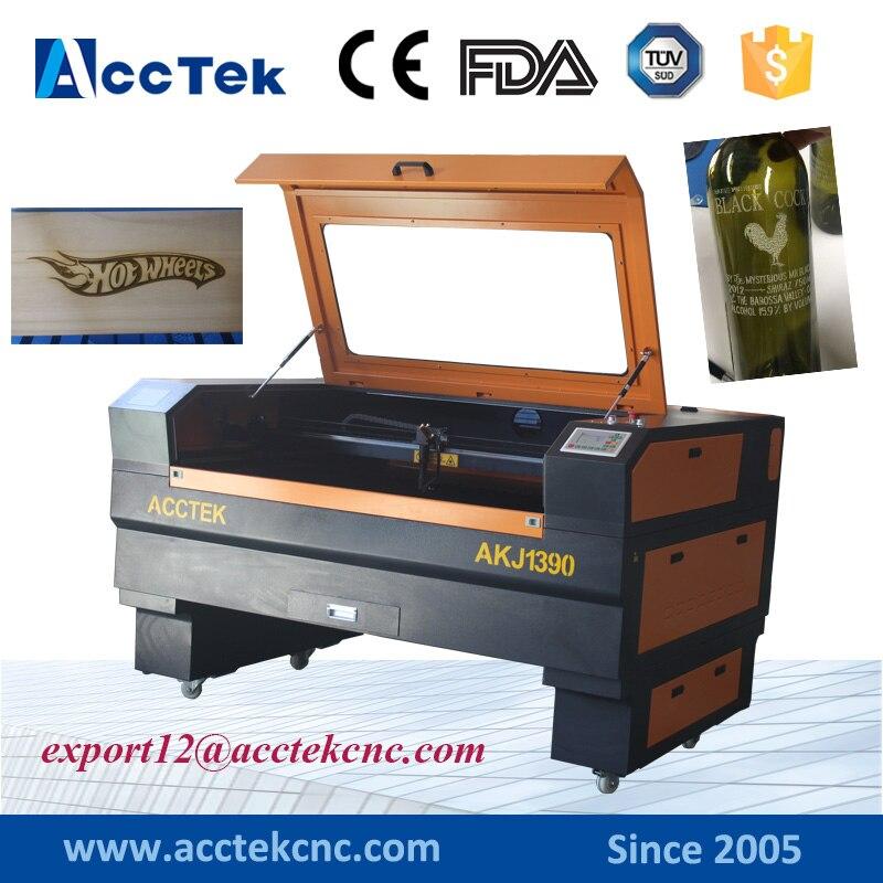 80 W 100 W 130 W 150 W laser cutter CNC 1390 bois laser coupe laser contreplaqué avec table haut-bas