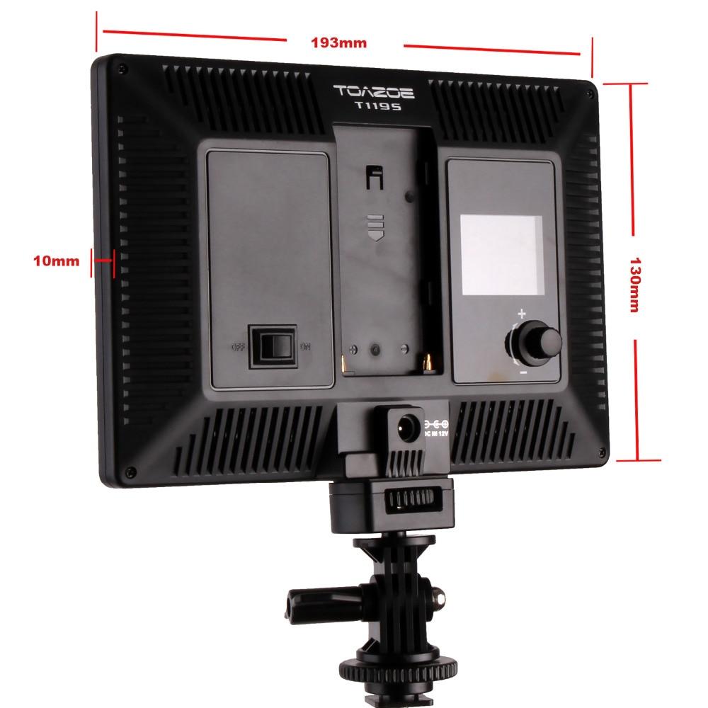 TOAZOE T119S Ультра жіңішке жарықдиодты - Камера және фотосурет - фото 6