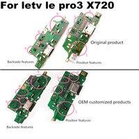Para letv le leeco pro 3 x720 módulo de microfone + usb placa porto cabo flexível conector peças substituição do reparo