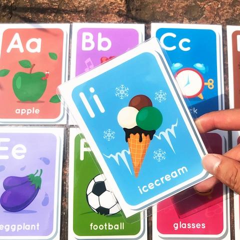 cartao alfabeto aprendizagem precoce educacional brinquedo do