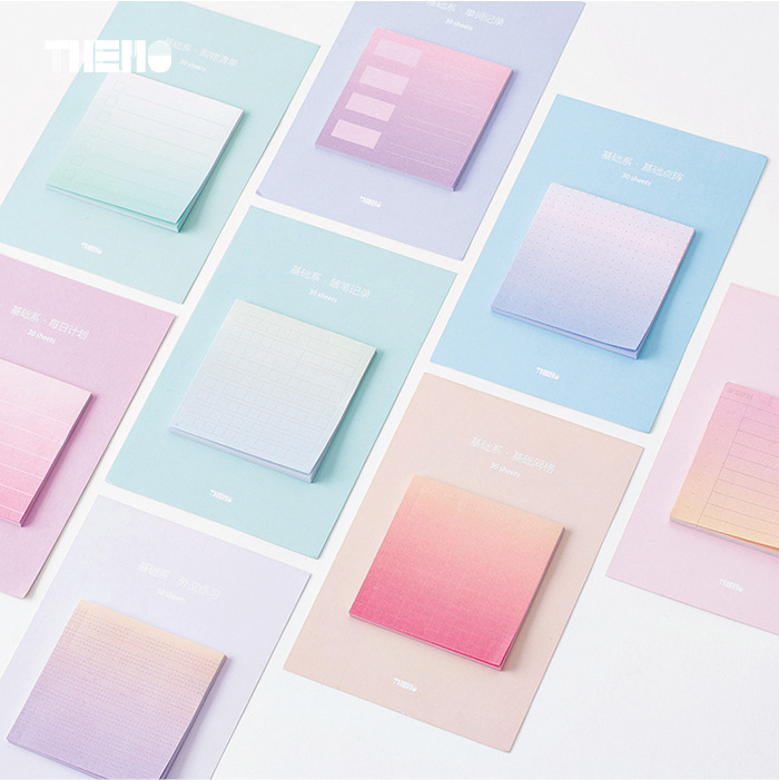 Rainbow Northern Europe memo pad paper sticky notes notepad stationery papeleria school supplies material escolar rainbow northern europe memo pad paper sticky notes notepad post it stationery papeleria school supplies material escolar