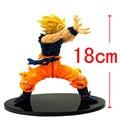 2015 Anime Dragon Ball Z Son Goku PVC Banpresto Dragon Ball Z Master Stars Piece MSP Action Figure Super Saiyan Model Doll Toy