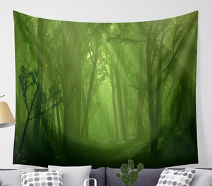 Image 5 - CAMMITEVER Magical Fantastic Forest  Tapestry Wall Hanging Rectangle Wall Hanging Tapestry Decoration Wall Fabric Tapestries