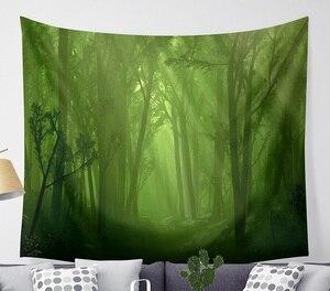 Image 5 - CAMMITEVER Magico Fantastico Foresta Arazzo Appeso A Parete Rettangolo Appeso A Parete Arazzi Decorazione Della Parete di Tessuto Arazzi
