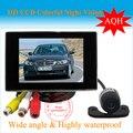 2 в 1 монитора автомобиля 4.3 дюймов TFT LCD экран / монитор / dvd-дисплей / грузовик / школьный автобус / тренер и проволоки автомобилей камера заднего вида