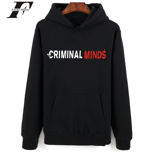 8ada0325d7835 2017 Criminal Minds printed Hoodie Sweatshirt men women survetement Mens  Hoodies And Sweatshirts XXS 4XL moleton