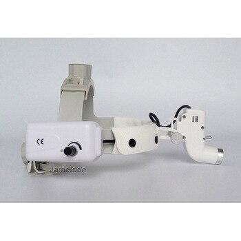 الطبية مصباح ليد العدسة المكبر رئيس مصباح قابل للتعديل عالية الكثافة عملية قابلة للشحن الأسنان كشافات المصباح الجراحي