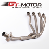 GT Motor New full System Exhaust For Kawasaki Z900 2017 Motorcycle Modified Muffler Pipe Front Header Pipe Tube