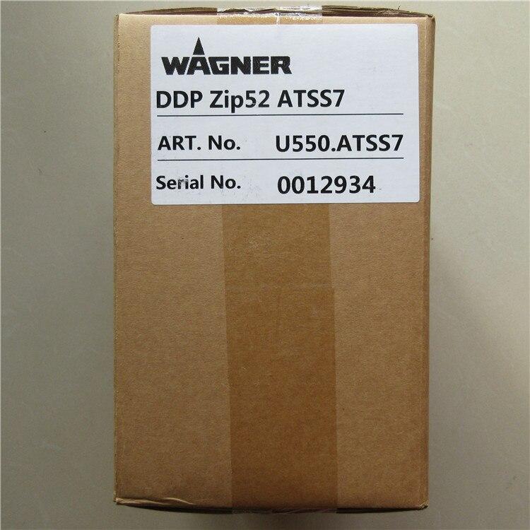 Купить с кэшбэком Wagner Zip 52 pump(U550.ATSS7), Aluminum material paint pump, stock available.Double diaphragm pump for AirSpray applications.
