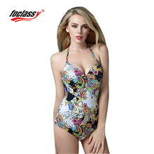 one piece swimsuit black blue and rose red color Swimwear bodysuit women цена 2017