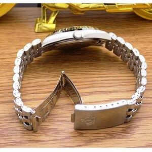Image 5 - レジナルドクラウンクォーツ男性レディース腕時計ビジネスカジュアルメンズ鋼カレンダー日本防水カレンダーハイトクォーツ腕時計