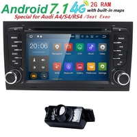 Android 5 1 Quad Core CAR DVD PLAYER For Audi A4 2002 2008 Year With GPS