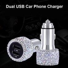 Universal Crystal Diamond USB Data Line For Mobile Phone Cha