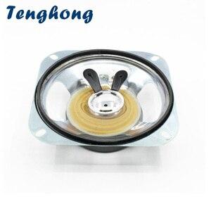 Image 1 - Tenghong 1pcs 4 Inch Draagbare Audio Speaker 8Ohm 10W 102MM Transparante Waterdichte Luidspreker Anti diefstal elektronische Luidspreker