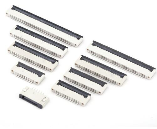 FPC Pitch 1.0mm Flip Connector SMT SMD Type Ribbon Flat