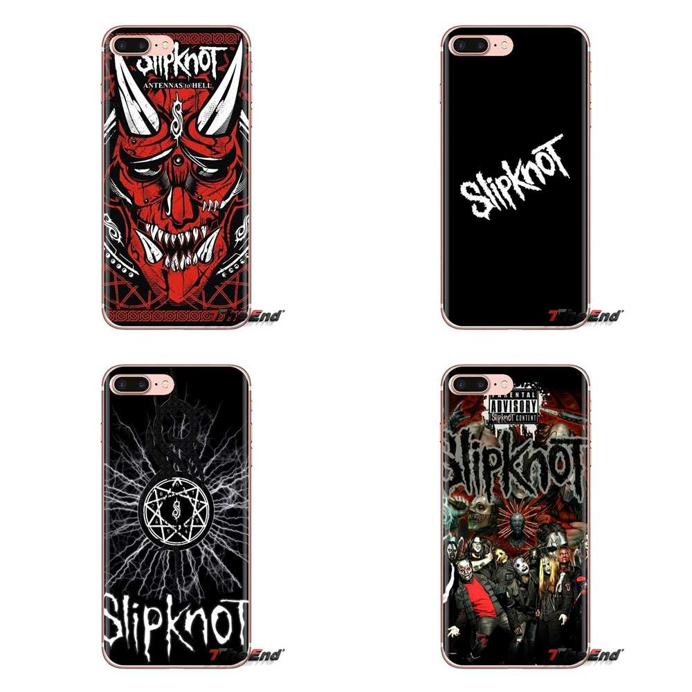 Soft Transparent Cases Covers Heavy metal band Slipknot For Huawei Mate Honor 4C 5C 5X 6X 7 7A 7C 8 9 10 8C 8X 20 Lite Pro