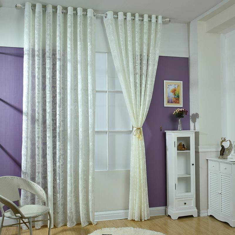 braun voile vorhänge-kaufen billigbraun voile vorhänge ... - Wohnzimmer Wei Braun