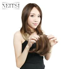 Neitsi 8'' 1pc Synthetic Clip In Hair Bangs High Temperature Fiber For Women 25g casa 25g 8 page 8