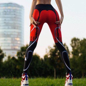 Lue's House New Sexy Heart Print Women Fitness Leggings