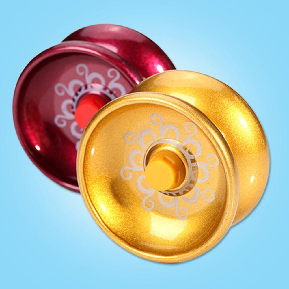 LeadingStar Cool Alloy Aluminum Design Yoyo High Speed Professional YoYo Ball String Trick Yo-Yo Kids Magic Juggling Toy