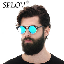 2017 Aviación Polarizado Ronda gafas de Sol Ray Diseñador de la Marca de lujo de Los Hombres de Época Retro Gafas Mujeres Gafas de Conducción de Metal