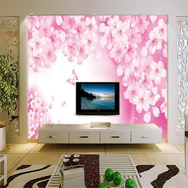 3d HD custom modern wallpaper living room bedroom background wall ...
