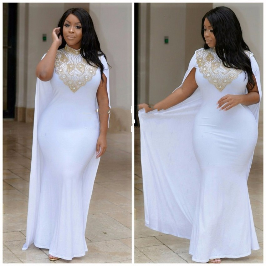 Cheap Plus Size White Dresses Heartpulsar