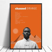 Frank Ocean - Channel Orange Album Pop Music cover Music Star Poster Canvas Prints Wall Art For Living Room Home Decor(China)
