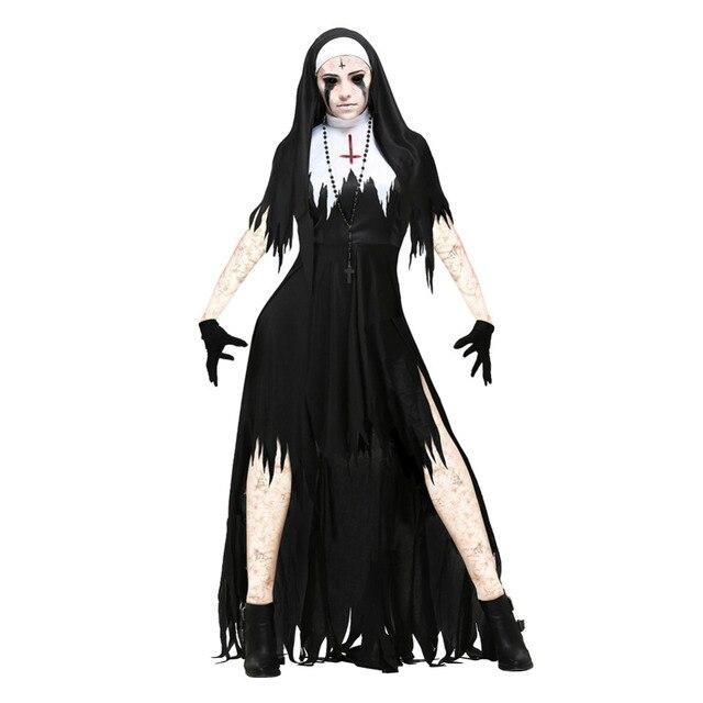 Extrêmement Halloween de rôle vampire religieuses diable costume 2017 nouveau  PY72