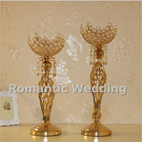 Free shipment 10PCS/lots irregular shape gold candle holder centerpiece for Wedding decorations event products party decorations