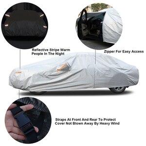 Image 4 - Kayme aluminium Waterproof car covers super sun protection dust Rain car cover full universal auto suv protective for Hyundai