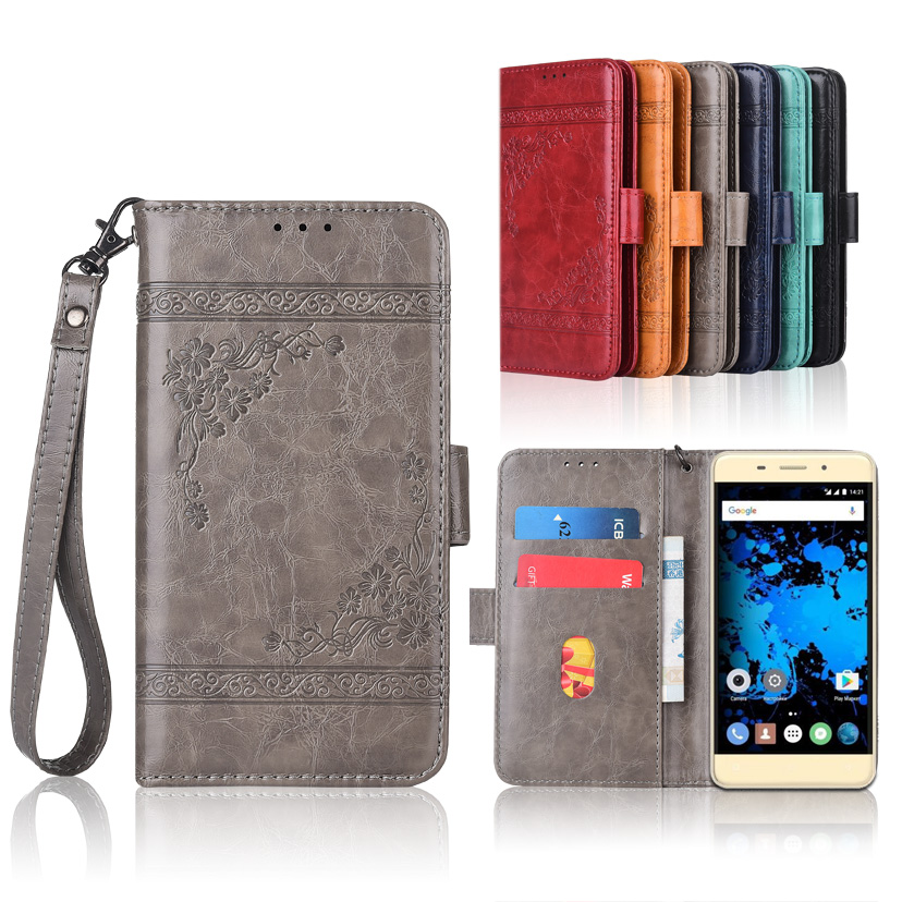 Wallet-Case Strap Flower Highscreen-Power Book-Cover-Case For Rage Evo With 100%Special