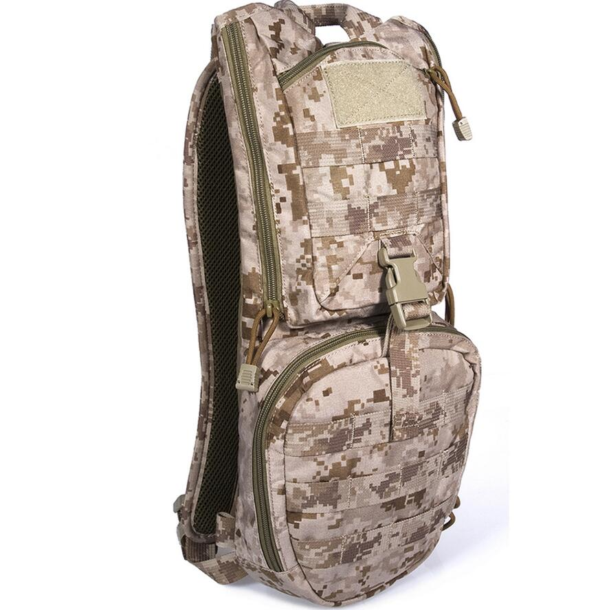 FLYYE MOLLE EDC Hydration Backpack CORDURAMulticam AOR AU FG Wargame Airsoft Hunting Tactical Military Law Enforcement HN-H006 emersongear lbt2649b hydration carrier for 1961ar molle backpack military tactical bags hunting bag multicam tropic arid black