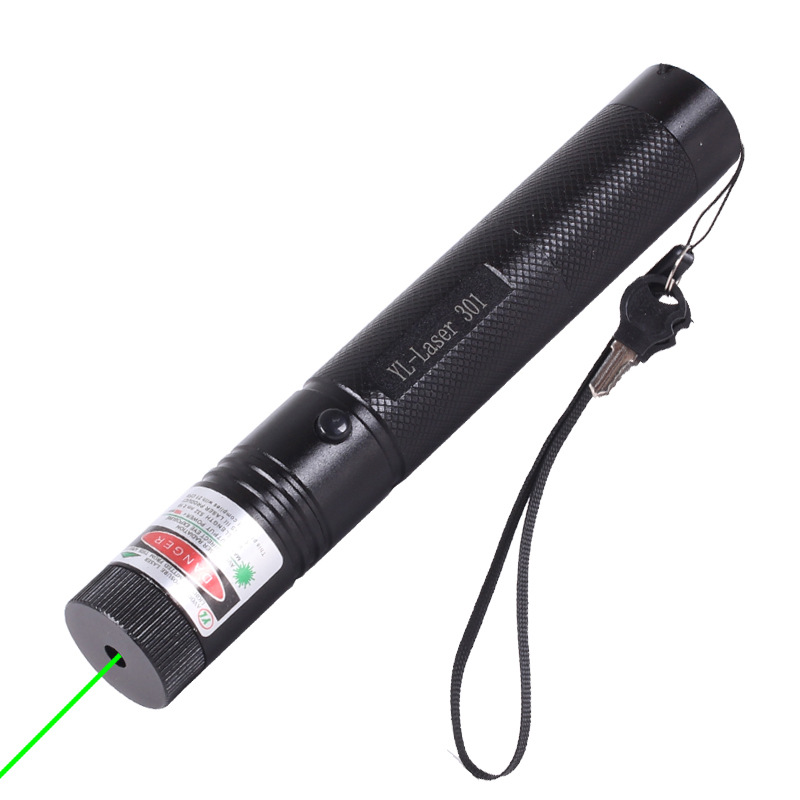 AIMIHUO Vert Laser 301 crayon lampe de poche Pointeur Laser Faisceau crayon 200 mw haute puissance laser focus allumage lampe stylo Pointeur lumière