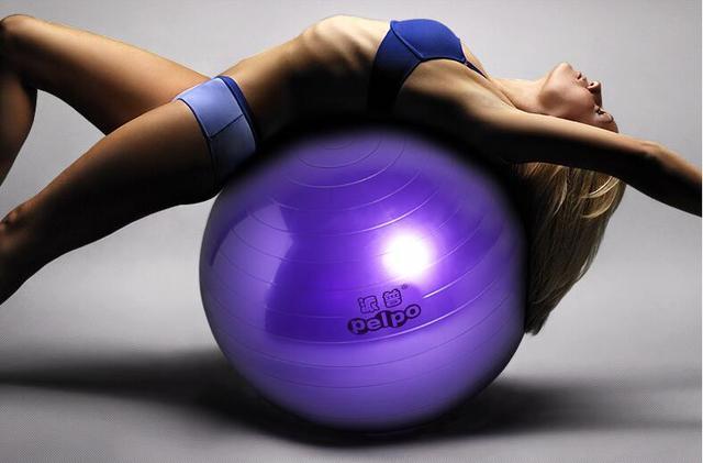 2a2204ab0 Yoga Bola de la base 55 cm 65 cm 75 cm Ejercicio Pilates Equilibrio ...